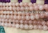 CCN5318 15 inches 8mm round candy jade beads Wholesale
