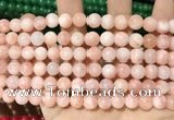 CCN5320 15 inches 8mm round candy jade beads Wholesale