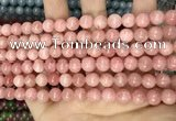 CCN5321 15 inches 8mm round candy jade beads Wholesale