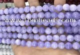 CCN5333 15 inches 8mm round candy jade beads Wholesale