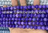 CCN5359 15 inches 8mm round candy jade beads Wholesale