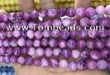 CCN5362 15 inches 8mm round candy jade beads Wholesale