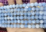 CCN5383 15 inches 8mm round candy jade beads Wholesale
