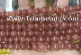 CCN5446 15 inches 8mm round candy jade beads Wholesale