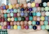 CCN5470 15 inches 8mm round candy jade beads Wholesale