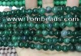 CCN5489 15 inches 8mm round candy jade beads Wholesale