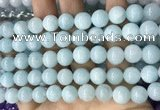 CCN5504 15 inches 8mm round candy jade beads Wholesale