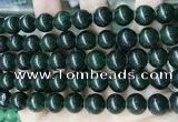 CCN5519 15 inches 8mm round candy jade beads Wholesale