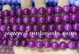 CCN5550 15 inches 8mm round candy jade beads Wholesale