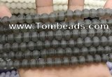 CCN5629 15 inches 8mm round matte candy jade beads Wholesale