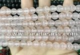 CCN5676 15 inches 8mm faceted round candy jade beads