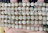 CCN5683 15 inches 8mm faceted round candy jade beads