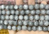 CCN5768 15 inches 10mm faceted round candy jade beads