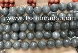 CCN5769 15 inches 10mm faceted round candy jade beads