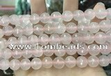 CCN5821 15 inches 10mm faceted round candy jade beads
