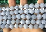 CCN5840 15 inches 8mm faceted nuggets candy jade beads Wholesale