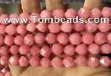CCN5843 15 inches 8mm faceted nuggets candy jade beads Wholesale