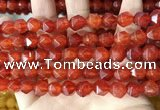 CCN5844 15 inches 8mm faceted nuggets candy jade beads Wholesale