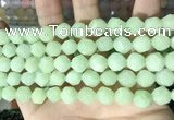 CCN5845 15 inches 8mm faceted nuggets candy jade beads Wholesale