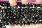 CCN5847 15 inches 8mm faceted nuggets candy jade beads Wholesale