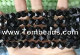 CCN5848 15 inches 8mm faceted nuggets candy jade beads Wholesale