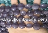CCN5871 15 inches 15mm flat round candy jade beads Wholesale