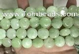 CCN5902 15 inches 15mm flat round candy jade beads Wholesale