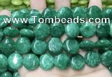 CCN5908 15 inches 15mm flat round candy jade beads Wholesale