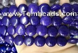 CCN5912 15 inches 15mm flat round candy jade beads Wholesale