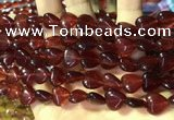 CCN5934 15 inches 12*12mm heart candy jade beads Wholesale