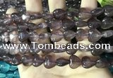 CCN5936 15 inches 12*12mm heart candy jade beads Wholesale
