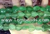 CCN5958 15 inches 14*14mm heart candy jade beads Wholesale