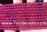 CCN6030 15.5 inches 4mm round candy jade beads Wholesale