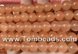 CCN6043 15.5 inches 12mm round candy jade beads Wholesale