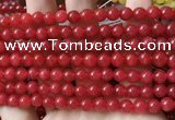 CCN6060 15.5 inches 6mm round candy jade beads Wholesale