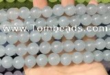 CCN6172 15.5 inches 12mm round candy jade beads Wholesale