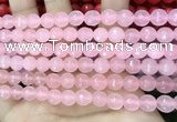 CCN6303 15.5 inches 8mm faceted round candy jade beads Wholesale