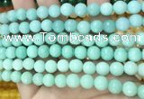 CCN6311 15.5 inches 8mm faceted round candy jade beads Wholesale