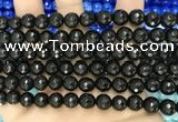 CCN6314 15.5 inches 8mm faceted round candy jade beads Wholesale