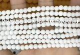 CCN6378 15.5 inches 6mm, 8mm, 10mm & 12mm round matte candy jade beads