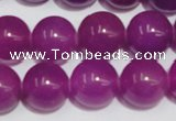 CCN68 15.5 inches 14mm round candy jade beads wholesale