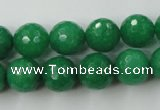 CCN797 15.5 inches 8mm faceted round candy jade beads wholesale