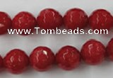 CCN875 15.5 inches 18mm faceted round candy jade beads