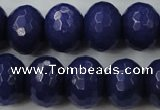 CCN955 15.5 inches 14*18mm faceted rondelle candy jade beads