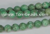 CCO102 15.5 inches 8mm round dyed natural chrysotine beads