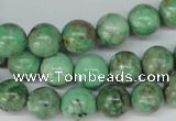 CCO103 15.5 inches 10mm round dyed natural chrysotine beads