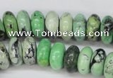 CCO16 15.5 inches 6*12mm rondelle natural chrysotine beads