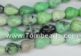 CCO20 15.5 inches 8*10mm teardrop natural chrysotine beads
