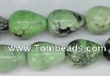 CCO22 15.5 inches 13*18mm teardrop natural chrysotine beads