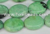 CCO37 15.5 inches 15*20mm oval natural chrysotine beads